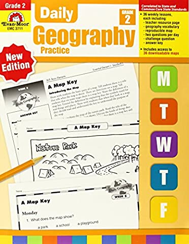 Daily Geography Practice, Grade 2 (Geography Practice)