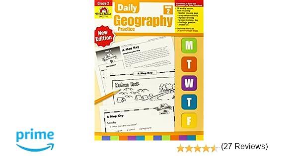 Daily Geography Practice, Grade 2: Evan Moor: 0023472037114 ...