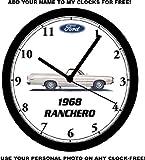 1968 FORD RANCHERO WALL CLOCK-Free USA Ship