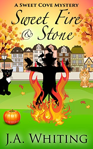 Sweet Fire and Stone (A Sweet Cove Cozy Mystery Book 7) -
