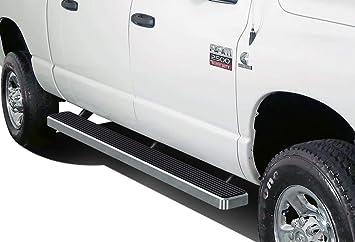 Nerf Bars Side Steps APS iBoard 5in Stainless Steel Black Running Boards Custom Fit 2002-2008 Dodge Ram 1500 Quad Cab /& 2003-2009 Ram 2500 3500