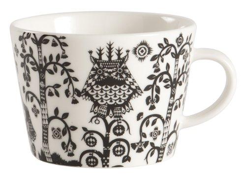 Cup Espresso Taika - Iittala Taika Coffee/Cappuccino Cup, Black, 6-3/4-Ounce