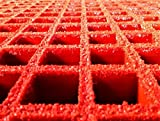 PROGrid Molded Fiberglass Grating - V15-O-G, 144 In Length