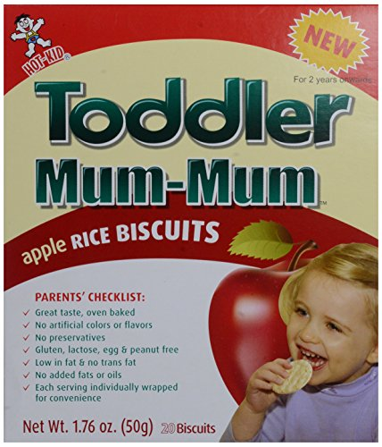 Mum Mum for Toddlers Rice Biscuits - Apple