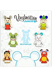 Disney Vinylmation Animation #1 Collectors Set with Mystery Pin 85370