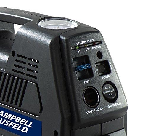 Portable 12 Volt Inflator Rechargeable Air Compressor