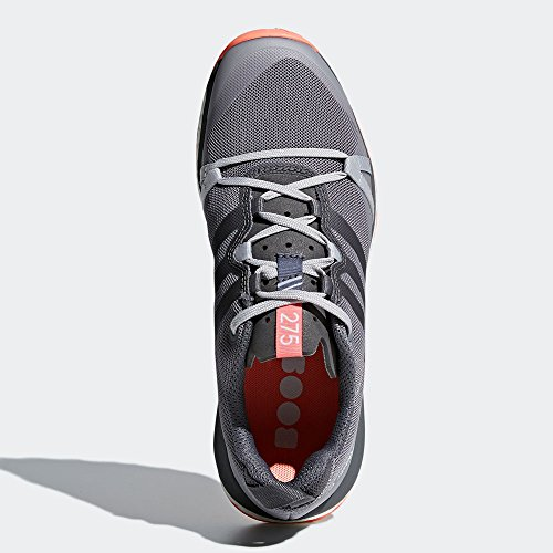 Grethr Grefou 5 W Terrex Chacor Grethr adidas 6 Trail Grefou Women's White UK Chacor Running Shoes Grey Agravic q7AcfRO