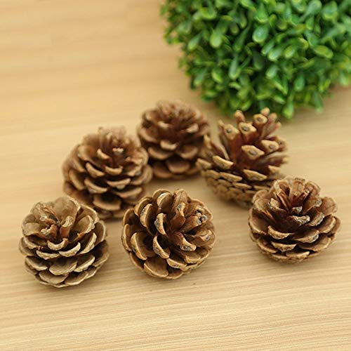 Plastic Christmas Ball Ornament - Wood Pinecone Balls Party Decoration Ornament Christmas Tree Hanging Pine Cones 2 3cm Wholesale - Gifts Stubby Christmas Snow White & Book Styrofoam Bauble -