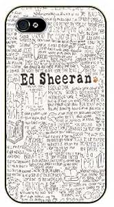 iPhone 5 / 5s Handwritten lyrics black plastic case / Ed Sheeran Inspirational and motivational life quotes / SURELOCK AUTHENTIC