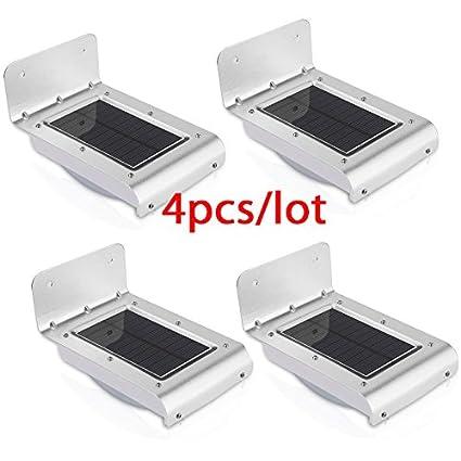 Nueva generación 16 LED solar energía PIR infrarrojos sensor de movimiento jardín seguridad lámpara al aire