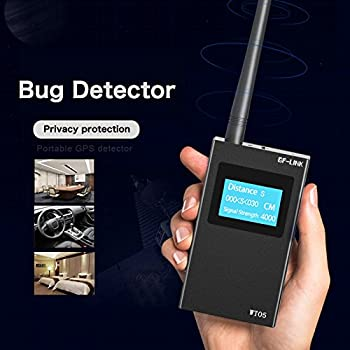 Bug Detector RF Signal Detector Scanner Hidden Camera Phone GSM GPS WiFi Bug Spy Detectors By GF-LINK