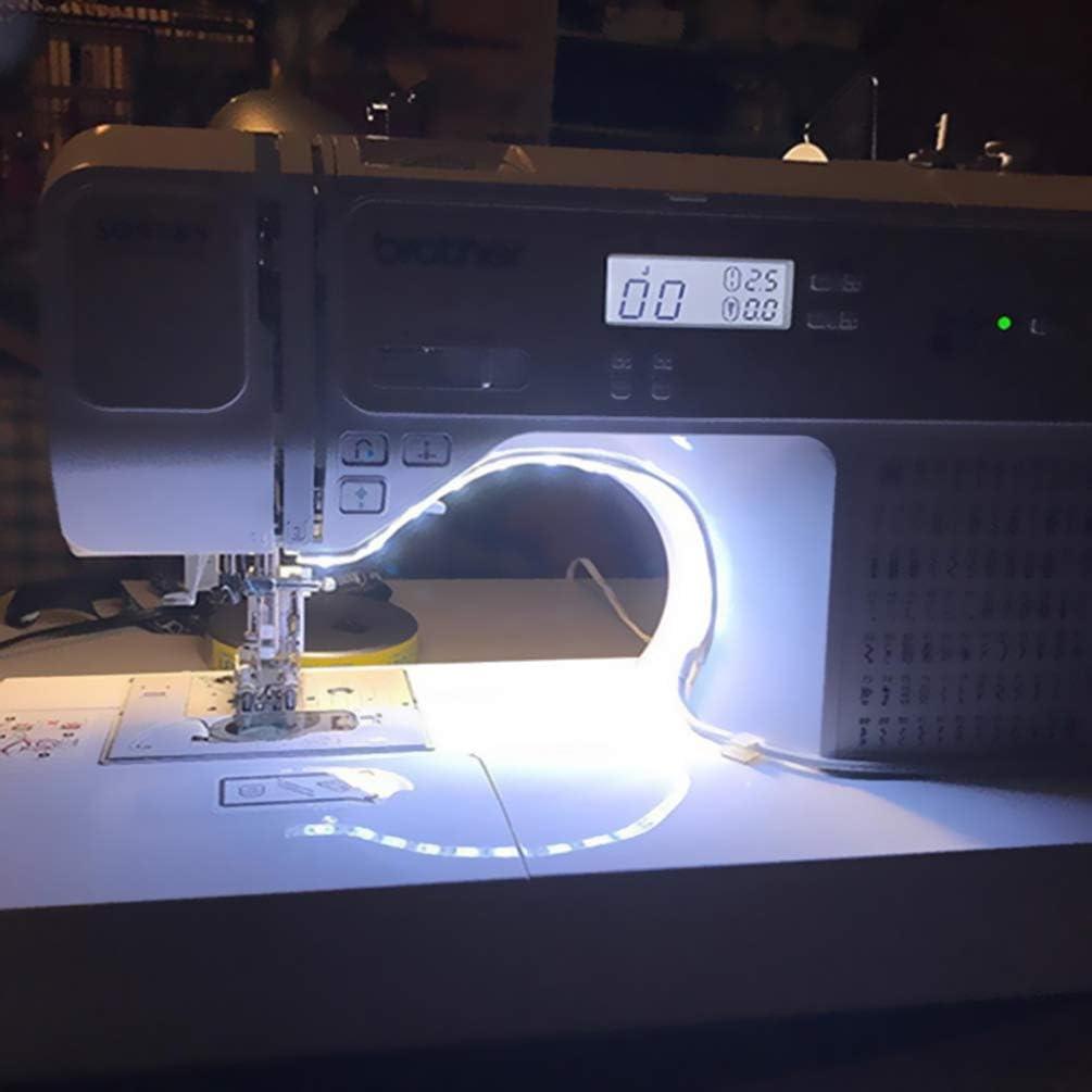 Uonlytech - Luz LED para máquina de coser (2 m, 5 V, luz ambiental ...