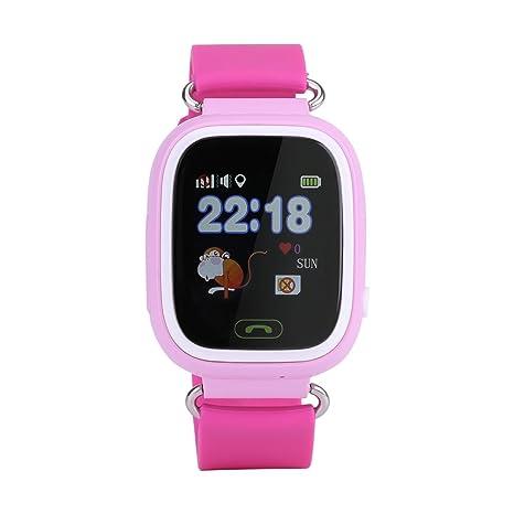FTVOGUE SOS - Reloj inteligente para niños y niñas, con GPS y rastreador de actividad