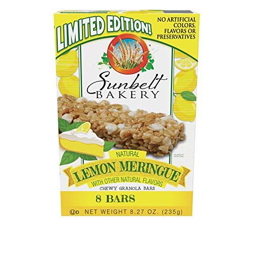 Sunbelt Bakery Lemon Meringue Chewy Granola Bars, 1.0 oz Bars, 32 Count