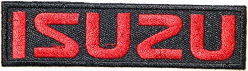 ISUZU Motor Logo Sign Truck Van Pickup Car Racing Patch Iron on Applique Embroidered T shirt Jacket Costume Gift BY SURAPAN