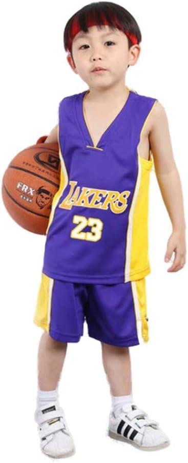 KSWX Camiseta de Baloncesto Niño Lakers # 23 Lebron James Traje De ...