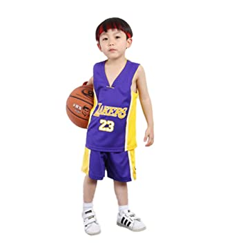 KSWX Camiseta de Baloncesto Niño Lakers # 23 Lebron James ...