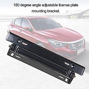 Car License Plate Frame Holder Adjustable Number Plate Holder Mount ...