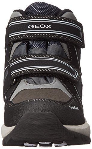 Geox J ORIZONT BOY ABX B - zapatillas deportivas altas de material sintético niños Negro - Noir (C0017)