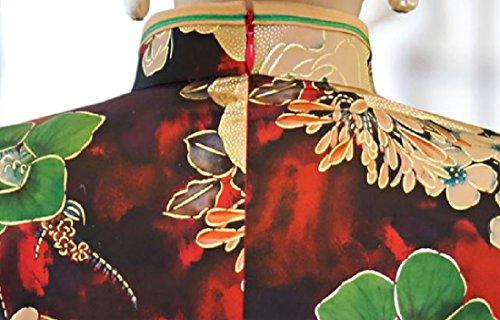Coolred-femmes Classiques De Style Ethnique Rétro Cheongsam Prime Robe Chinoise 4