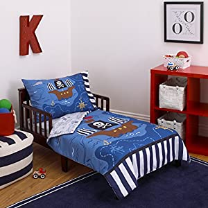 51Pu0s8huoL._SS300_ Pirate Bedding Sets and Pirate Comforter Sets