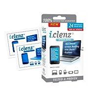 Pack 24 Lingettes nettoyantes pour Ecrans téléphones ou tablettes avec fonction antibactérienne