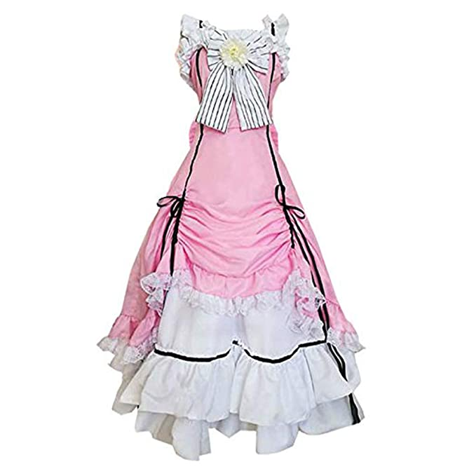 Amazon.com: MYYH Anime Ciel Phantomhive - Disfraz de mujer ...
