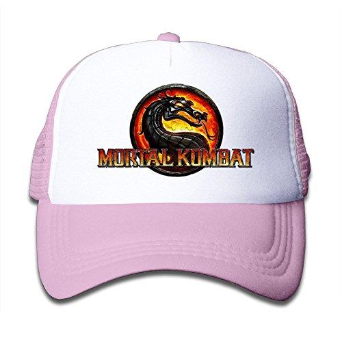 Price comparison product image TIKE Adolescent Caps Hat Mortal Kombat Jurassic Style Fans Meshback Pink