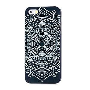 GDW caso duro del patrón de mandala azteca para el iphone 5 / 5s