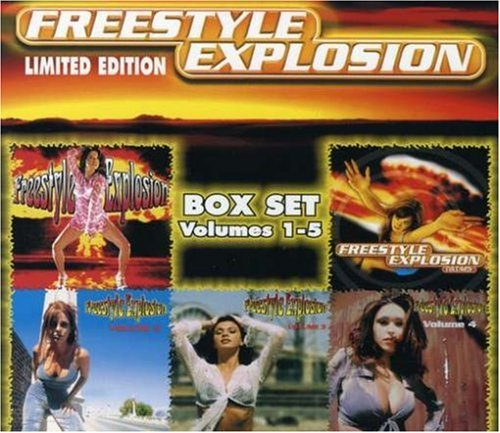 Freestyle Explosion (Vol. 1-5) [5 CD Box Set] by The One