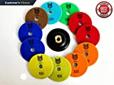 4 1 2 grinder pad - Saca Wet/Dry Diamond Polishing Pads - For Marble, Granite, Concrete, Stone, and Quartz slate. Includes 4 FREE PADS