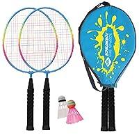 Schildkröt Funsports Badminton- JUNIOR im Headcover Federball 2 Spieler, 970901