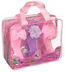 No princess is ever fully dressed without the perfect pair of shoes to complete her look. The My Princess Academy Princess Shoe Set includes three charming pairs of dress-up heels for all the little girly-girls in your life. Your little princ...