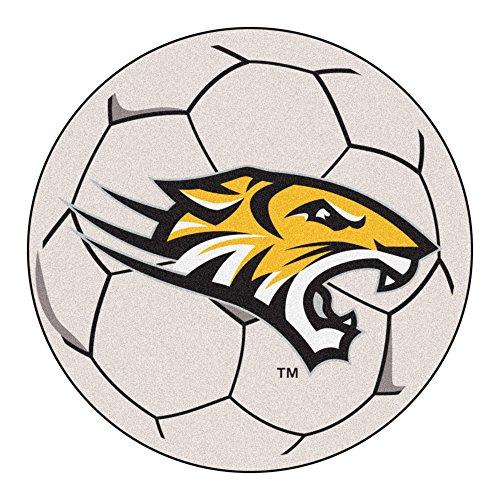 (NCAA Towson University Tigers Soccer Ball Mat Round Area Rug)