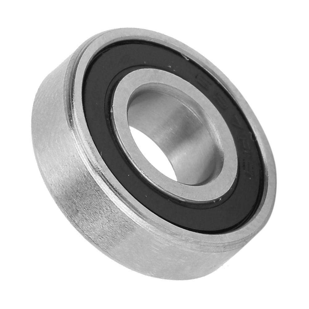 10pcs Deep Groove Ball Bearings Set 697-2RS 698-2RS 699-2RS Double Black Rubber Sealed Ball Bearings for Skateboards Inline Skates Scooters 699-2RS