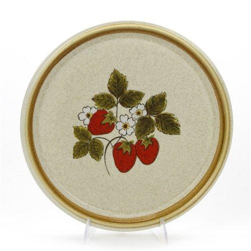 Strawberry Festival by Mikasa, Stoneware Serving Tray, (Mikasa Strawberry)