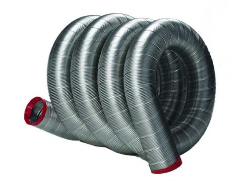 Fireside Chimney Supply FireFlex 316Ti Smooth Wall Chimney Liner - 8in x 15ft (Flue Liners Flexible)