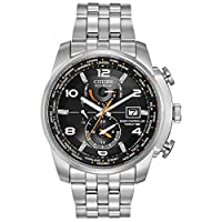 Used, needs repair; Citizen Men's Eco-Drive World Time Atomi