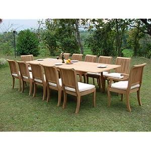 51Pu4PeyYFL._SS300_ Teak Dining Tables & Teak Dining Sets
