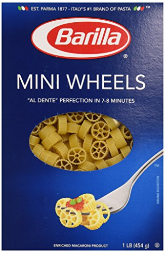 Price comparison product image Barilla Mini Wheels Pasta, 16 oz