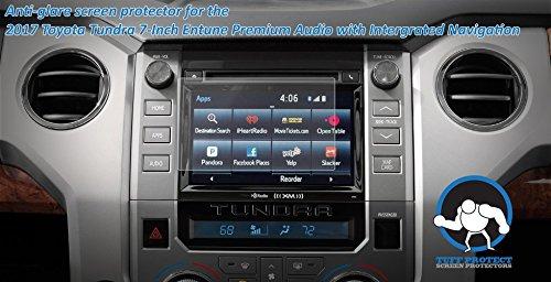 Tuff Protect Anti-glare Screen Protectors For 2017 Toyota Tundra Car Navigation Screen