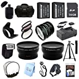 ULTRA PROFESSIONAL ACCESSORY PACKAGE: for Fujifilm FinePix HS35EXR and HS50EXR