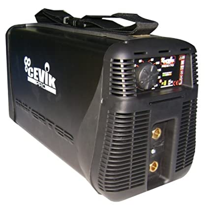 Cevik CE-TITANIUM160 - Equipo de Soldadura 160 A. al 60%. Electrodos