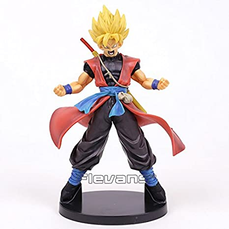 Dragon Ball Super Heroes DXF 7th Anniversary Super Saiyan Son Goku Avatar PVC Figures Toys with