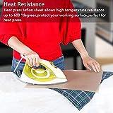 6 Pack PTFE Teflon Sheet for Heat Press Transfer
