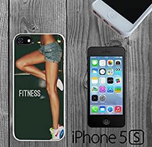 Beautiful Fitness Quote Custom made Case/Cover/skin FOR iPhone 5/5s