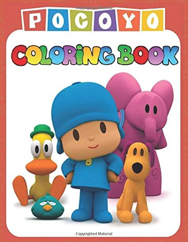 Pocoyo Coloring Book: 30 Awesome & Exclusive illustrations ...