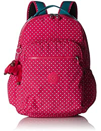 Seoul Up Large Backpack With Laptop Protection Pink Summer Pop