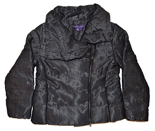 Jacket Ralph Lauren Black Label - Ralph Lauren Collection Purple Label Down Jacket Coat Italy Black Silver Medium