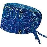 Surgical Cap Model: ARAITZ – For Long Hair - Multicolored – 100% Cotton (Autoclave) -